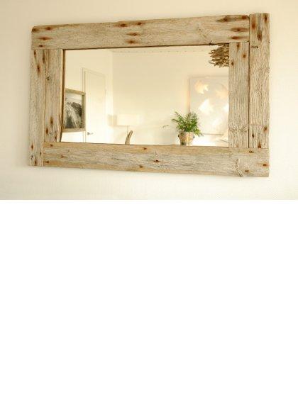 unikat treibholz spiegel silverback ressourcenschonendes einrichtungsobjekt hergestellt von. Black Bedroom Furniture Sets. Home Design Ideas