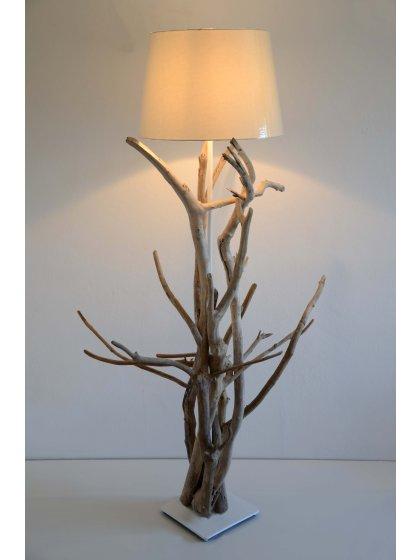 stehlampe ecolista mit treibholz das treibholz astwerk stammt von den stranden der nordsee. Black Bedroom Furniture Sets. Home Design Ideas